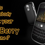Blackberry Mobile Phone Monitoring